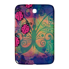 Background Colorful Bugs Samsung Galaxy Note 8 0 N5100 Hardshell Case  by BangZart