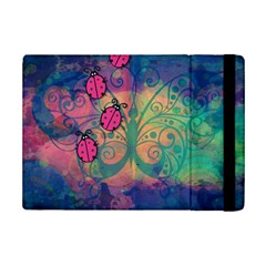 Background Colorful Bugs Ipad Mini 2 Flip Cases by BangZart