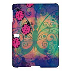 Background Colorful Bugs Samsung Galaxy Tab S (10 5 ) Hardshell Case  by BangZart