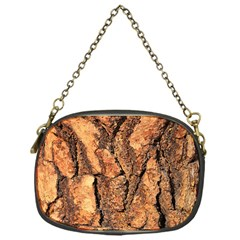 Bark Texture Wood Large Rough Red Wood Outside California Chain Purses (one Side)  by BangZart