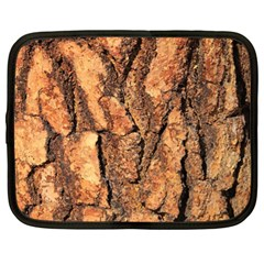 Bark Texture Wood Large Rough Red Wood Outside California Netbook Case (xl)  by BangZart