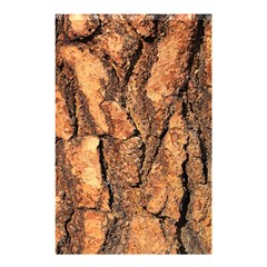 Bark Texture Wood Large Rough Red Wood Outside California Shower Curtain 48  X 72  (small)  by BangZart