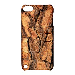 Bark Texture Wood Large Rough Red Wood Outside California Apple Ipod Touch 5 Hardshell Case With Stand by BangZart