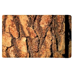 Bark Texture Wood Large Rough Red Wood Outside California Apple Ipad Pro 9 7   Flip Case by BangZart