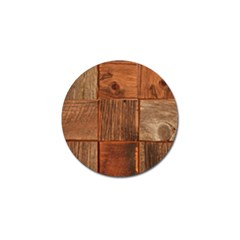 Barnwood Unfinished Golf Ball Marker (4 Pack) by BangZart