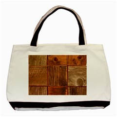 Barnwood Unfinished Basic Tote Bag by BangZart