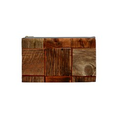 Barnwood Unfinished Cosmetic Bag (small)  by BangZart