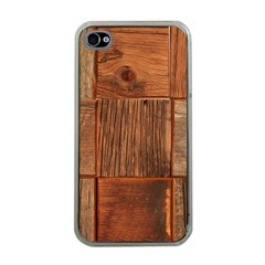 Barnwood Unfinished Apple Iphone 4 Case (clear) by BangZart