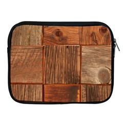 Barnwood Unfinished Apple Ipad 2/3/4 Zipper Cases