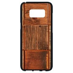 Barnwood Unfinished Samsung Galaxy S8 Black Seamless Case by BangZart
