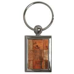 Barnwood Unfinished Key Chains (rectangle)