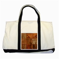 Barnwood Unfinished Two Tone Tote Bag by BangZart