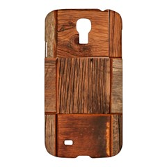 Barnwood Unfinished Samsung Galaxy S4 I9500/i9505 Hardshell Case by BangZart