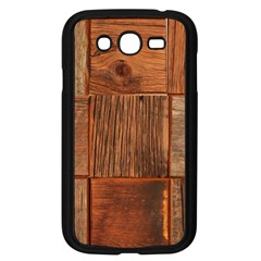 Barnwood Unfinished Samsung Galaxy Grand Duos I9082 Case (black) by BangZart