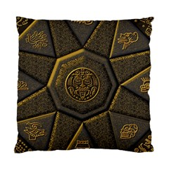 Aztec Runes Standard Cushion Case (two Sides) by BangZart
