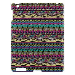 Aztec Pattern Cool Colors Apple Ipad 3/4 Hardshell Case by BangZart