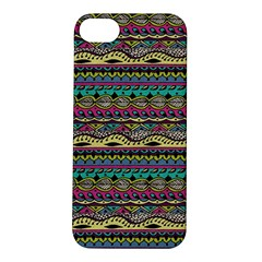 Aztec Pattern Cool Colors Apple Iphone 5s/ Se Hardshell Case by BangZart