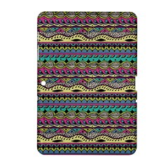 Aztec Pattern Cool Colors Samsung Galaxy Tab 2 (10 1 ) P5100 Hardshell Case  by BangZart