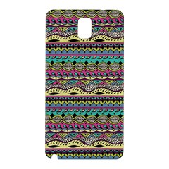 Aztec Pattern Cool Colors Samsung Galaxy Note 3 N9005 Hardshell Back Case