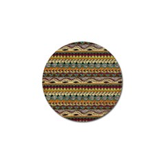Aztec Pattern Ethnic Golf Ball Marker (10 Pack) by BangZart