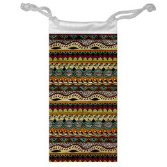 Aztec Pattern Ethnic Jewelry Bag