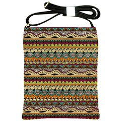 Aztec Pattern Ethnic Shoulder Sling Bags by BangZart