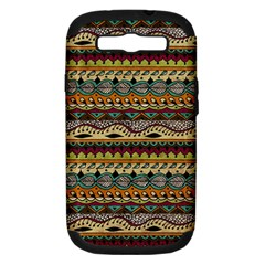 Aztec Pattern Ethnic Samsung Galaxy S Iii Hardshell Case (pc+silicone) by BangZart