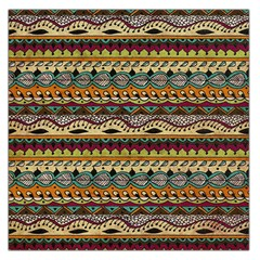 Aztec Pattern Ethnic Large Satin Scarf (square) by BangZart