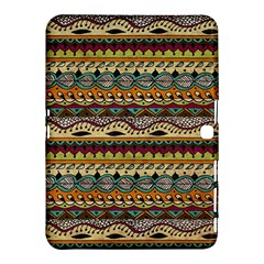 Aztec Pattern Ethnic Samsung Galaxy Tab 4 (10 1 ) Hardshell Case  by BangZart