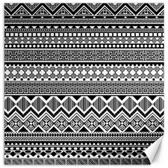 Aztec Pattern Design Canvas 12  X 12