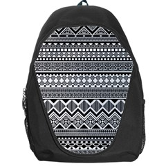 Aztec Pattern Design Backpack Bag