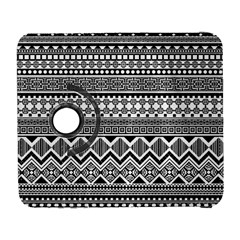 Aztec Pattern Design Galaxy S3 (flip/folio) by BangZart
