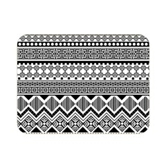 Aztec Pattern Design Double Sided Flano Blanket (mini)