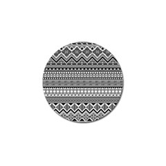 Aztec Pattern Design(1) Golf Ball Marker (10 Pack) by BangZart