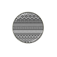 Aztec Pattern Design(1) Hat Clip Ball Marker (4 Pack)