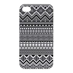 Aztec Pattern Design(1) Apple Iphone 4/4s Premium Hardshell Case by BangZart