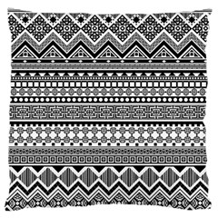 Aztec Pattern Design(1) Large Cushion Case (two Sides) by BangZart