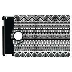 Aztec Pattern Design(1) Apple Ipad 2 Flip 360 Case by BangZart