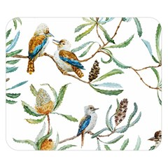 Australian Kookaburra Bird Pattern Double Sided Flano Blanket (small)  by BangZart