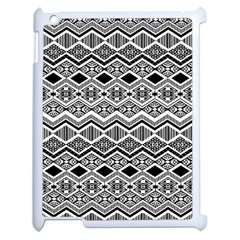 Aztec Design  Pattern Apple Ipad 2 Case (white) by BangZart