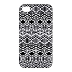 Aztec Design  Pattern Apple Iphone 4/4s Hardshell Case by BangZart