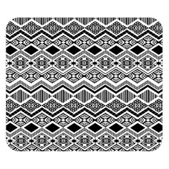 Aztec Design  Pattern Double Sided Flano Blanket (small)  by BangZart