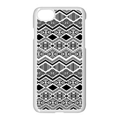 Aztec Design  Pattern Apple Iphone 7 Seamless Case (white) by BangZart