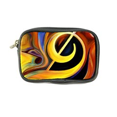 Art Oil Picture Music Nota Coin Purse