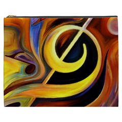 Art Oil Picture Music Nota Cosmetic Bag (xxxl)  by BangZart