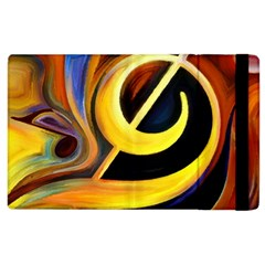 Art Oil Picture Music Nota Apple Ipad 3/4 Flip Case by BangZart