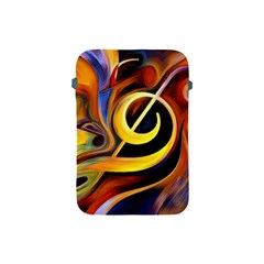Art Oil Picture Music Nota Apple Ipad Mini Protective Soft Cases by BangZart