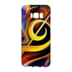 Art Oil Picture Music Nota Samsung Galaxy S8 Hardshell Case  by BangZart