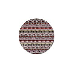 Aztec Pattern Art Golf Ball Marker (10 Pack) by BangZart