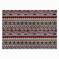 Aztec Pattern Art Large Glasses Cloth (2 Side)